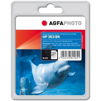 Agfaphoto Tintenpatrone schwarz HC (APHP363BD)