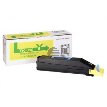 Kyocera Toner-Kit gelb (1T02KAANL0, TK-880Y)