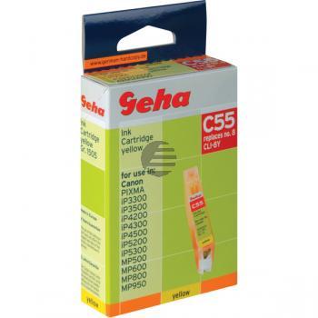 Geha Tintenpatrone gelb (00044900, C55) ersetzt 0623B001 / CLI-8Y