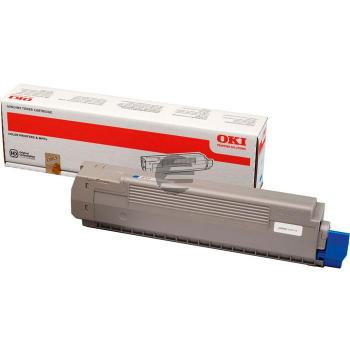 OKI Toner-Kit cyan (44643003)