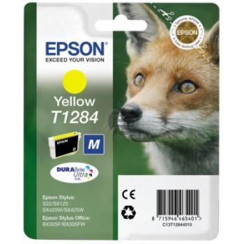 Epson Tinte gelb (C13T12844010, T1284)