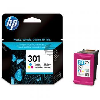 HP Tintendruckkopf cyan/gelb/magenta (CH562EE, 301)
