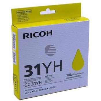 Ricoh Gel-Kartuschen gelb (405704)