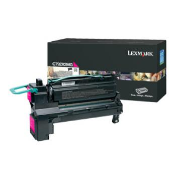 Lexmark Toner-Kartusche magenta HC (C792X2MG)