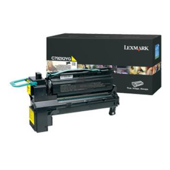 Lexmark Toner-Kartusche gelb HC (C792X2YG)