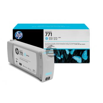 HP Tinte Cyan light (CE042A, 771)