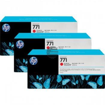 HP Tintenpatrone magenta 3er Pack (CR252A, 3 x 771)