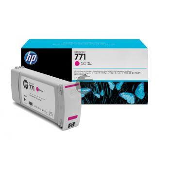 HP Tintenpatrone magenta (CE039A, 771)
