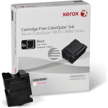 Xerox ColorStix 6x schwarz 6-er Pack (108R00957)