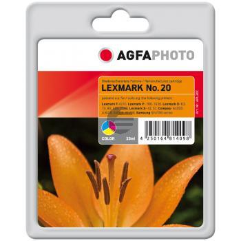 Agfaphoto Tintendruckkopf cyan/gelb/magenta HC (APL20C)