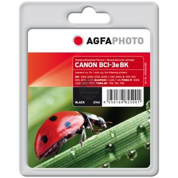 Agfaphoto Tintenpatrone schwarz (APCBCI3BD)