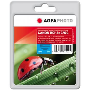 Agfaphoto Tintenpatrone cyan (APCBCI3CD)