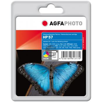 Agfaphoto Tintendruckkopf cyan/gelb/magenta HC (APHP57C)
