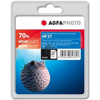 Agfaphoto Tintendruckkopf schwarz HC (APHP27B)