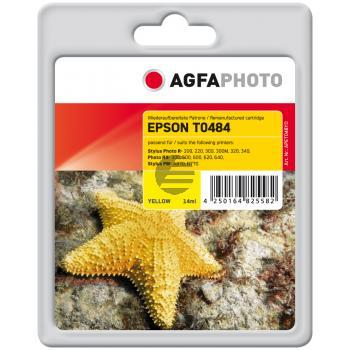 Agfaphoto Tintenpatrone gelb (APET048YD)