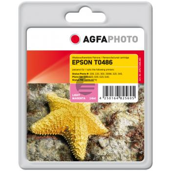 Agfaphoto Tintenpatrone magenta light (APET048LMD)