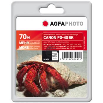 Agfaphoto Tintendruckkopf schwarz (APCPG40B)