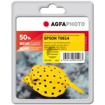 Agfaphoto Tintenpatrone gelb (APET061YD)