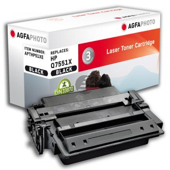 Agfaphoto Toner-Kartusche schwarz HC (APTHP51XE)