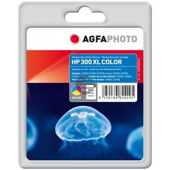 Agfaphoto Tintendruckkopf cyan/gelb/magenta HC (APHP300XLC)
