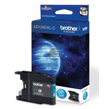 Brother Tinte Blister Cyan HC (LC-1280XLC)