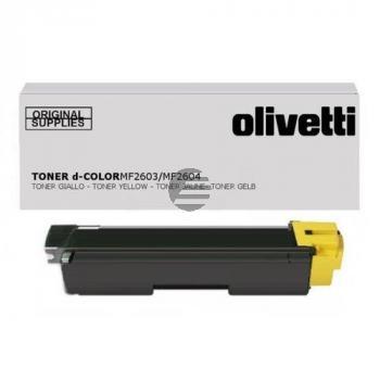 Olivetti Toner-Kit gelb (B0949)