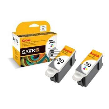 Kodak Tinte 3-farbig schwarz (3952355 8039745, 30B/30CL)