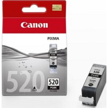 Canon Tintenpatrone Photo-Tinte 2x photo schwarz 2-er Pack (2932B009, PGI-520PA)