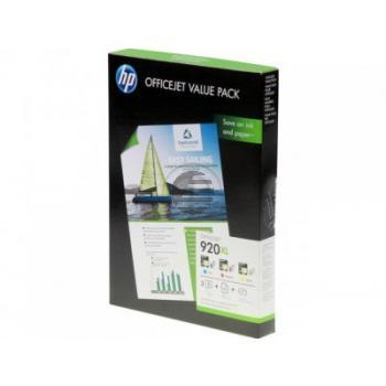 HP Tinte + Papier gelb Cyan Magenta HC (CH081AE, 920XL)