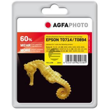Agfaphoto Tintenpatrone gelb HC (APET071_T089YD)