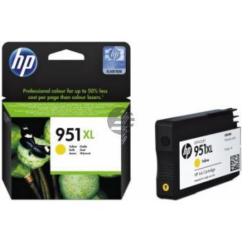 HP Tinte gelb HC (CN048AE, 951XL)
