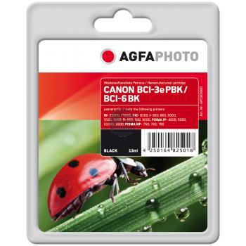 Agfaphoto Tintenpatrone schwarz (APCBCI6BD)