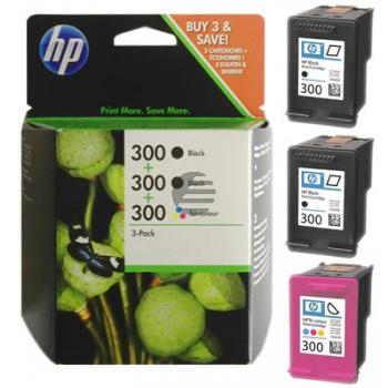 HP Tintendruckkopf Cyan/gelb/Magenta 2x schwarz HC (SD518AE, 300)