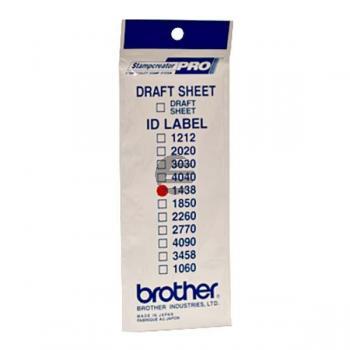 Brother Etiketten 24 weiß (ID1438)