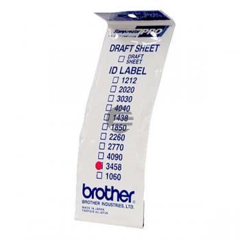 Brother Etiketten weiß (ID3458)