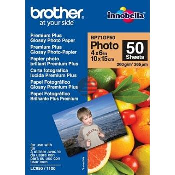Brother Papier 50 Seiten (BP71GP50)