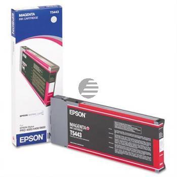 Epson Tintenpatrone magenta HC (C13T544300, T5443)
