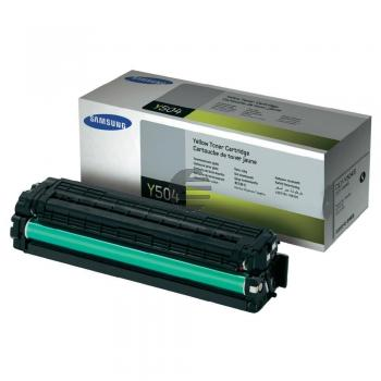 Samsung Toner-Kit gelb (CLT-Y504S, Y504)