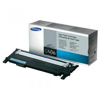 Samsung Toner-Kit cyan (CLT-C406S, C406)