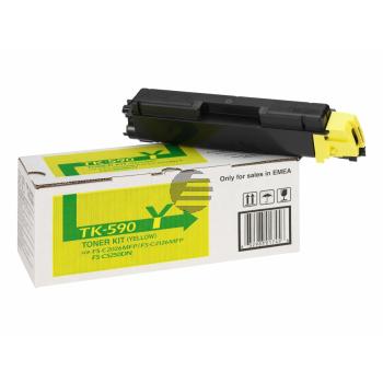 Kyocera Toner-Kit gelb (1T02KVANL0, TK-590Y)