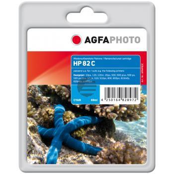 Agfaphoto Tintenpatrone cyan (APHP82C)