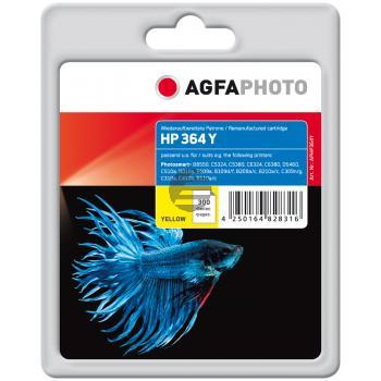 Agfaphoto Tintenpatrone gelb (APHP364Y)