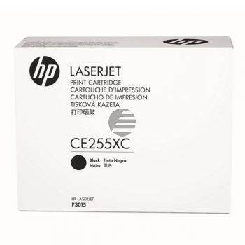 HP Toner-Kartusche Contract schwarz (CE255XC, 55XC)