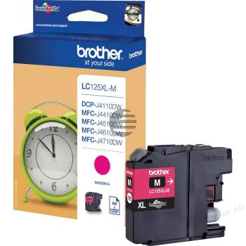 Brother Tinte Magenta HC (LC-125XLM)
