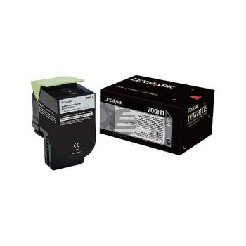 Lexmark Toner-Kit schwarz (70C0H10, 700H1)
