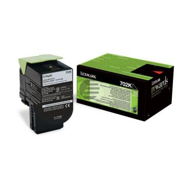 Lexmark Toner-Kit Return schwarz (70C20K0, 702K)