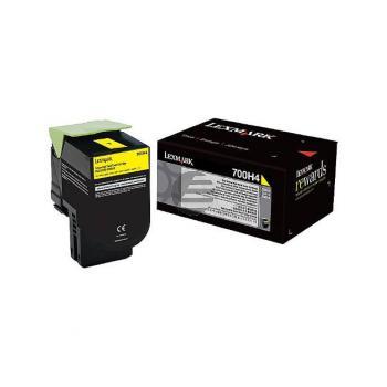 Lexmark Toner-Kit gelb (70C0H40, 700H4)