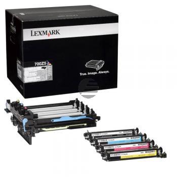 Lexmark Transfer-Unit schwarz + farbig (70C0Z50, 700Z5)