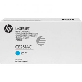 HP Toner-Kartusche Contract cyan (CE251AC)