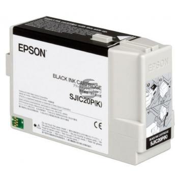 Epson Tintenpatrone schwarz (C33S020490, SJIC20P(K))